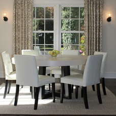 Contemporary Dining Room by Charette Interior Design, Ltd.