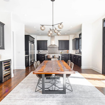 Kitchen Dining Area - Lombardy Ave Project - Central Builders LLC
