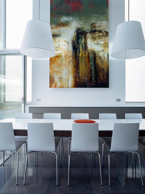 Quartz dining table houzz for Quartz top dining table