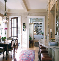 traditional dining room by Elizabeth Anne Star Interiors