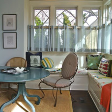 Eclectic Dining Room by Nancy Sanford, Inc.