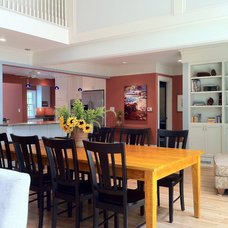 Contemporary Dining Room by Monarch Renovations