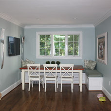 Traditional Dining Room Kitchen remodel