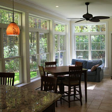 Traditional Dining Room by Clarke Associates LLC