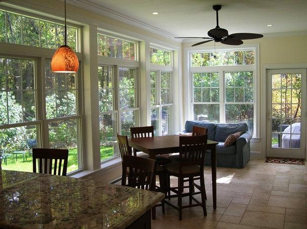 Traditional Dining Room by Clarke Associates LLC