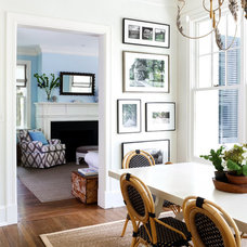 Eclectic Dining Room by Sara Tuttle Interiors