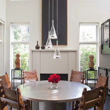 Eclectic Dining Room by SemelSnow Interior Design, Inc.