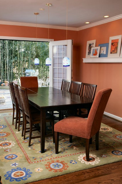 Contemporary Dining Room by Designing Solutions