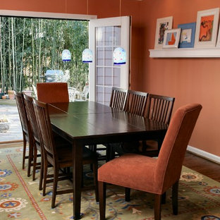 Inspiration For A Contemporary Dining Room Remodel In Dc Metro