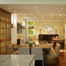 Contemporary Dining Room by Stuart Cohen & Julie Hacker Architects LLC