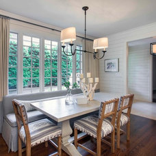 Transitional Dining Room by Advanced Renovations, Inc.