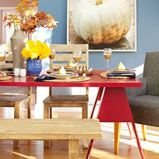 Farmhouse Dining Room by Lowe's Home Improvement