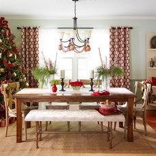 Transitional Dining Room by Lowe's Home Improvement