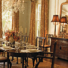 Traditional Dining Room by William West Designs