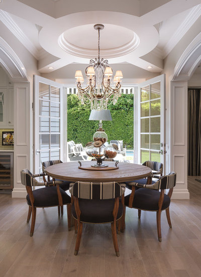 Traditional Dining Room by Teague Hunziker Photography