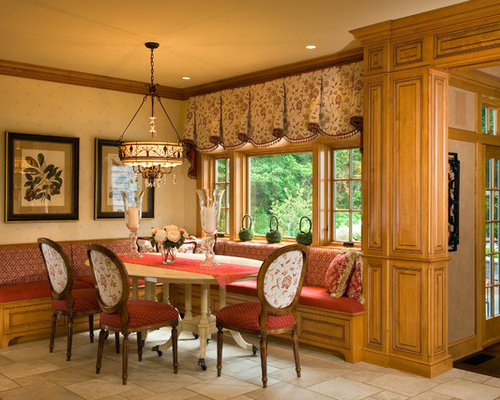 Valance ideas houzz for Dining room valance ideas
