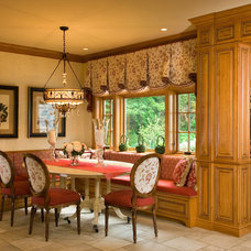 Traditional Dining Room by Troy Cabinetmakers