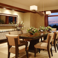 Contemporary Dining Room by Knudson Interiors