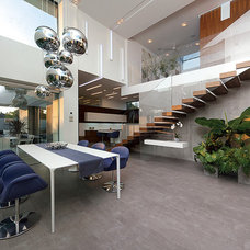 Contemporary Dining Room by 3AD Architect Office