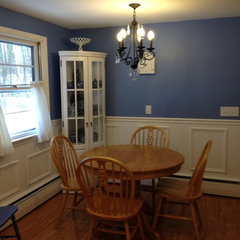 traditional dining room by Lowes of Seekonk, MA