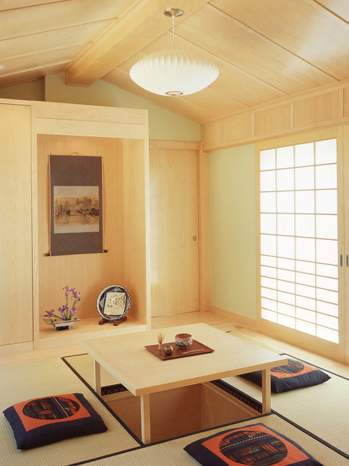 Traditional Japanese Home Design traditional japanese farmhouse different level kitchen eating Saveemail