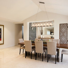 Contemporary Dining Room by B.Design