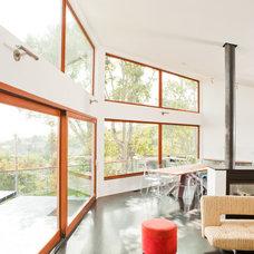 Contemporary Dining Room by Zeitgeist Design LLC