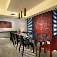 Contemporary Dining Room by Pepe Calderin Design- Modern Interior Design
