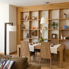 Modern Dining Room by Natalia Skobkina