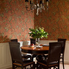 Acadia Road Residence Traditional Dining Room
