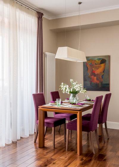 Contemporary Dining Room by Alexander Krivov / Александр Кривов
