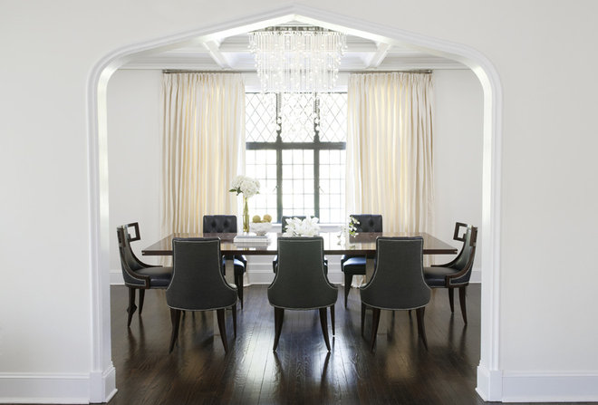Contemporary Dining Room by Kwinter & Co.