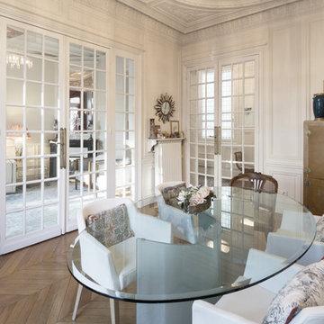 L'appartement de Julia à Paris - Salle à manger