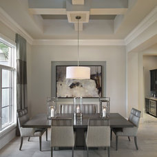 Contemporary Dining Room by Castle Harbour homes