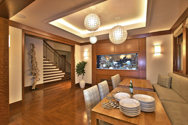 Contemporary Dining Room by Urban Colony