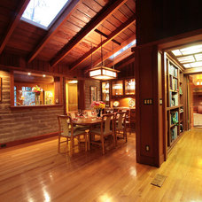 Craftsman Dining Room by Arroyo WoodWorks