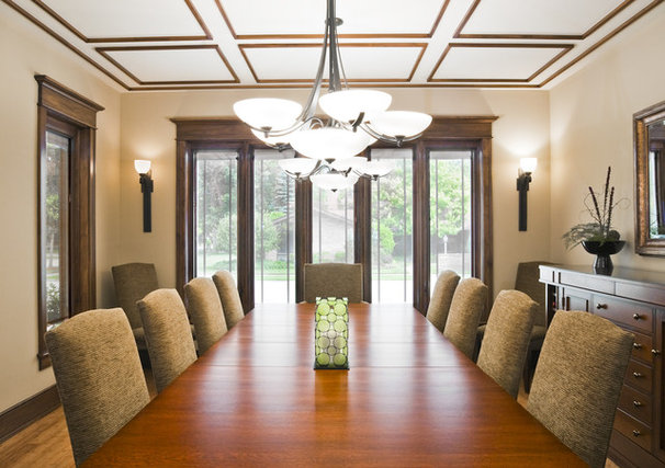 Traditional Dining Room by Studio 1 Architects