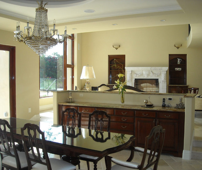 Traditional Dining Room by Cohn + Associates