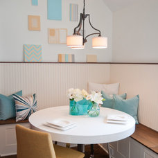 Transitional Dining Room by Original Style Design Studio