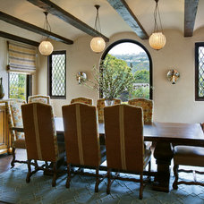Mediterranean Dining Room by Domani Architecture + Planning Inc.