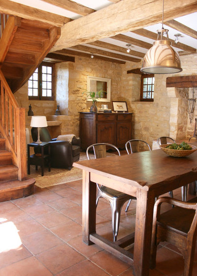 Houzz Tour: Bright, Rustic Cottage in France