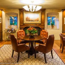 Tropical Dining Room by Lori Smyth Design