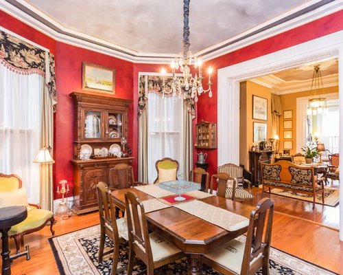 Victorian dining room design ideas remodels photos with for Victorian dining room ideas
