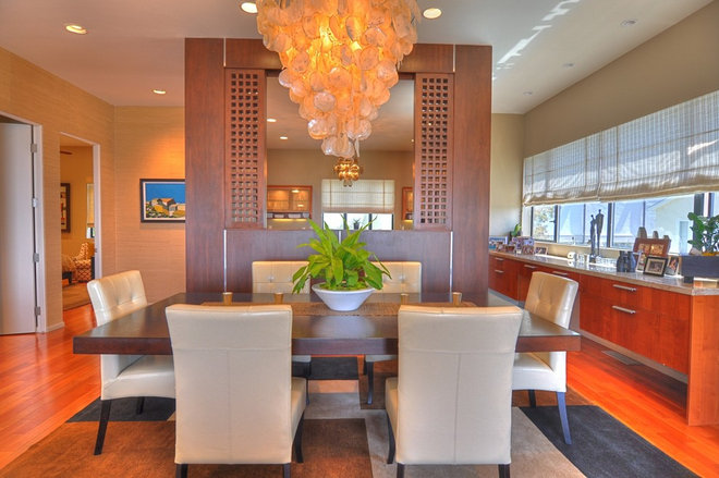 Contemporary Dining Room by Thos. Ryan Design LLC