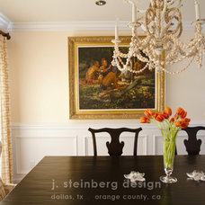 Traditional Dining Room by Janelle Steinberg Interior Design