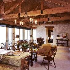 Traditional Dining Room by Steinbomer, Bramwell & Vrazel Architects