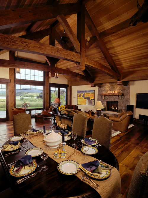 Cabin Great Room Ideas Pictures Remodel And Decor