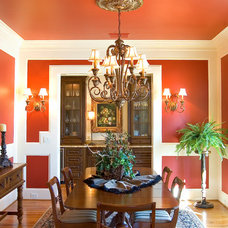 Traditional Dining Room by Timberlake Custom Homes, LLC
