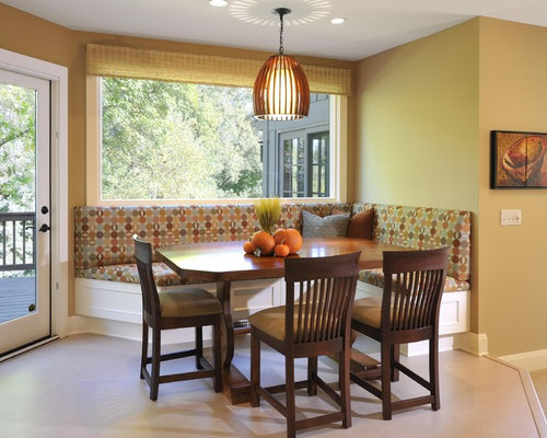Counter-Height Banquette Ideas, Pictures, Remodel and Decor