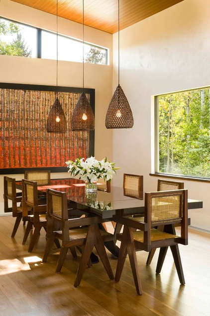 Contemporary Dining Room by Krueger Architecture & Design